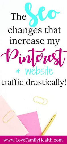 Increase your Pinterest traffic and increase your website traffic! #blogging