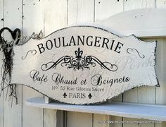 Français des signes  BOULANGERIE  Français par thebackporchshoppe