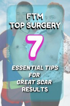 Scars are an unavoidable part of transgender surgery but with the right treatment you can greatly reduce scar appearance. These are 7 of my essential tips for looking after scars after top surgery, to give the best scar healing results. Transgender Surgery, Transgender Tips, Healing Oils, Scar Healing, Scar Massage, Trans Guys, Trans Man, Scar Reduction, Scar Treatment