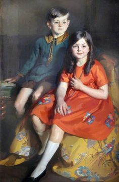 Eileen and Harry (1915–1997) Chrimes by William Charles Penn (1922)  National Museums Liverpool