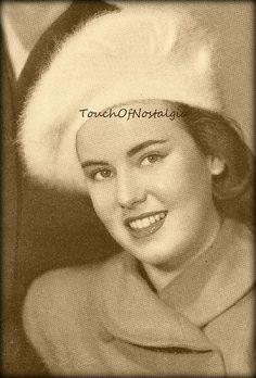 Crochet ANGORA BERET Hat Vintage Crochet by touchofnostalgia7