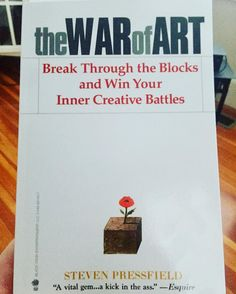 Snow day equals #learnday pick this up to #freeyourmind of the hurdles you and society constructs. #fighttheresistance #thewarofart #breakthrough #innerbattle