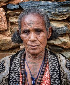 Orthodox tattoos,Tigray, Ethiopia by Rod Waddington via Flickr.