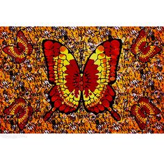 Orange Butterfly Tapestry on Sale for $19.95 at HippieShop.com