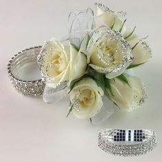 Dazzle Rock Candy Prom flowers Corsage Prom Ideas Prom jewelry