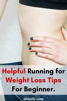 Does Running Burn Fat: Helpful Running for Weight Loss Tips For Beginner Learn To Run, How To Start Running, Reduce Belly Fat, Lose Belly, 30 Day Running Challenge, Treadmill Workout Beginner, Running Plan, Running For Beginners, Belly Fat Loss