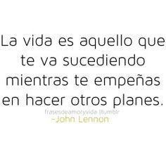Frase de vida -John Lennon