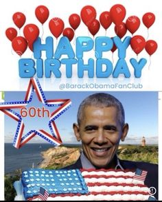 Happy 60th Birthday, Days And Months, National Days, Barack And Michelle, American Presidents, S Stories, Democratic Party, Barack Obama, Black History