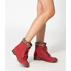 Buy 'yeswalker – Geometric Pattern Trim Boots' with Free International Shipping at YesStyle.com. Browse and shop for thousands of Asian fashion items from Hong Kong and more!