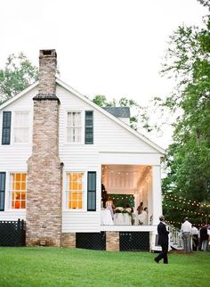 The backyard wedding (and reception!) of your dreams.
