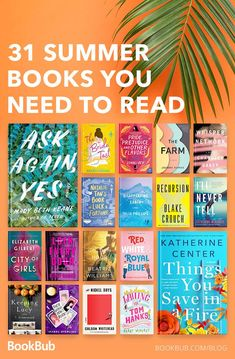31 summer books you need to read! 31 summer books you need to read! Summer Books, Summer Reading Lists, Beach Reading, Good Romance Books, Great Books To Read, My Books, Good Fiction Books, Romance Novels, Good Book Club Books