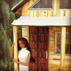 My Froggy Stuff: Free Dollhouse Printables : Cabin Windows and Doors... make awesome dollhouses this holiday season :oD