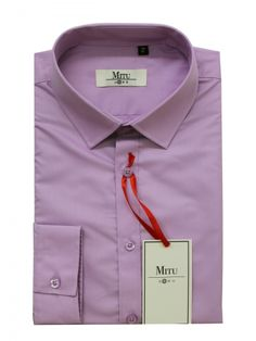 Mitu Uomo Designer Stylish GB 21/NC Lilac Shirt