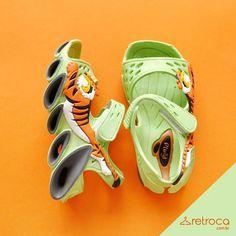 Você ficou sabendo que as sandalinhas e tênis Plugt baixaram no Retroca? Está…