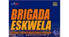 Official Brigada Eskwela 2019 Manual, Forms, Logo, Banner and T'shirt Design Over the years, the Brigada Eskwela effort has evolved f. National School, Private Sector, Crepe Paper, Public School, Over The Years, Effort, Work Hard, Physics, Leadership