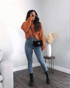 Winter Fashion Outfits, Look Fashion, Winter Outfits, Teen Fashion, Fashion Ideas, Classic Fashion, Tumblr Outfits, Mode Outfits, Cute Casual Outfits