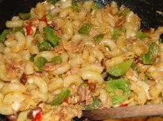 Rýchle cestoviny s mletým kuracím mäsom - mňamrecepty.eu Pasta Salad, Food And Drink, Ethnic Recipes, Crab Pasta Salad
