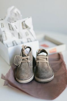 desert boots for toddlers by Clarks. adorable//