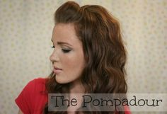 The Freckled Fox: 'The Basics' Hair Week, Tutorial #2: The Pompadour