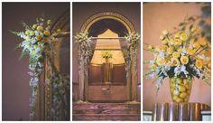 Elegant Modern Jewish Wedding at Severance Hall//chuppah