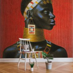 Ndebele Woman by TRETCHIKOFF for RSW