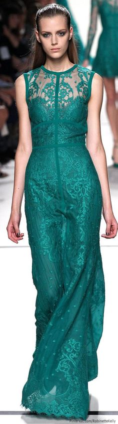 See more about green lace, lace gowns and elie saab. teal
