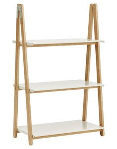 One Step Up Shelf - Low Blanc - Bois clair by Normann Copenhagen