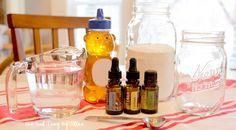 Try this natural breath freshener—homemade Honey Mint Mouthwash (from One Good Thing by Jillee)
