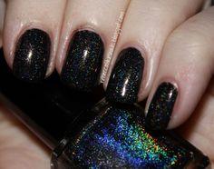 Glitter Gal Black 3D/Holo