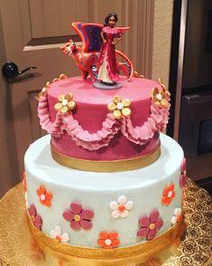 Elena of Avalor 4th Birthday Parties, 5th Birthday, Birthday Cakes, Birthday Ideas, Fiesta Cake, Bday Girl, Disney Cakes, Princess Party, Cakes And More