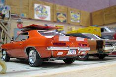 model car diorama