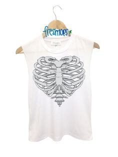 Cold heart Muscle tank