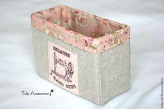 Коробочка для рукоделия своими руками - Ярмарка Мастеров - ручная работа, handmade