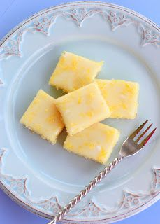 Lemon Brownies | The Girl Who Ate Everything I didn't have any fresh lemons so I used a fresh orange for the zest and some juice and lemon juice from my fridge. SOOOOO good!