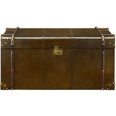 Seville Trunk Coffee Table found on Polyvore