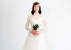 Weigh the pros and cons of donning a vintage wedding gown and consider which decade suits you best.