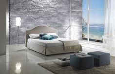 Moderne Schlafzimmermöbel in hellen Farben