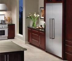 Thermador Appliances Custom Panel Freezerless Refrigerator | Integrated Refrigerator