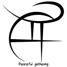 "mightymakara-deactivated2016031 said: Peaceful gathering Answer: ""Peaceful gathering"" sigil"