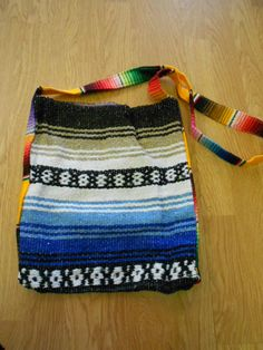 $14  Mexican BLANKET BAG