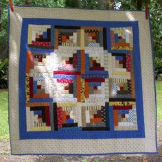 log cabin quilts | log cabin quilt by farmersdaughter52 on Etsy