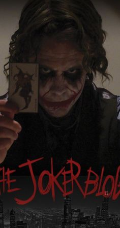 The Joker Blogs- I couldn't find anything on Pinterest about it and I was scandalized!!! (It's a compliment) the joker blogs is a YouTube series that follows the joker after the Dark Knight. It's incredible and the actors are wonderful!!! Check it out!!