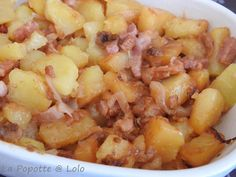 Potato Tofaille with Cookeo or not - chicken Cooking Chef, Hawaiian Pizza, Fruit Salad, Stew, Macaroni And Cheese, Lolo, Food And Drink, Snacks, Chicken