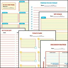 More Free Printable Daily Planners  Free Printable Organizing