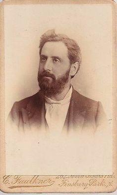 www.pastonpaper.com | Carte De Visite of an Unidentified Male Facial Hair, Old Photos, Carte De Visite, Old Pictures, Face Hair, Vintage Photos