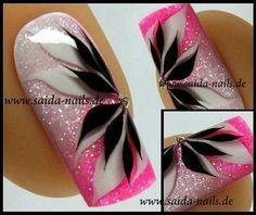 No photo description available. Fabulous Nails, Gorgeous Nails, Pretty Nails, Beautiful Nail Designs, Beautiful Nail Art, Fancy Nails, Pink Nails, Gel Nail Art, Acrylic Nails