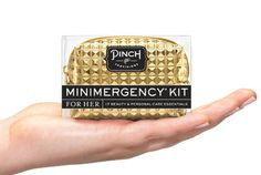 Stud Muffin Minimergency Kit by Pinch Provisions | Beauty, Fashion & Personal Care Kit with 17 Emergency Essentials