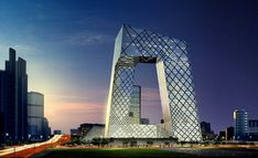 Rem Koolhaas - CCTV Headquarters, Pequim, 2008