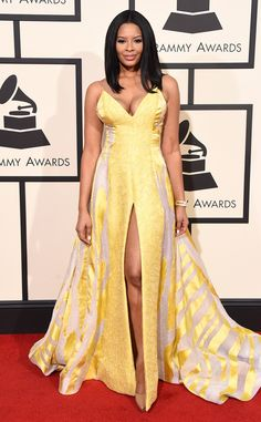 Vanessa Simmons from Grammys 2016: Red Carpet Arrivals | E! Online