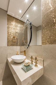Bathroom Counter Decor, Small Bathroom Interior, Bathroom Design Luxury, Bathroom Design Small, Laundry In Bathroom, Bathroom Furniture, Bathroom Ideas, Bathroom Design Inspiration, Design Ideas